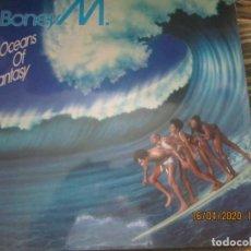 Discos de vinilo: BONEY M. - OCEANS OF FANTASY LP - ORIGINAL ESPAÑOL -ARIOLA 1979 CARPETA DESPLEGABLE Y FUNDA INT. . Lote 200836941