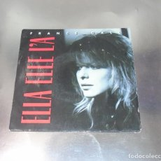 Discos de vinilo: FRANCE GALL --- ELLA ELLE LÁ & DANCING BRAVE ----( NM OR M- )----. Lote 200836956