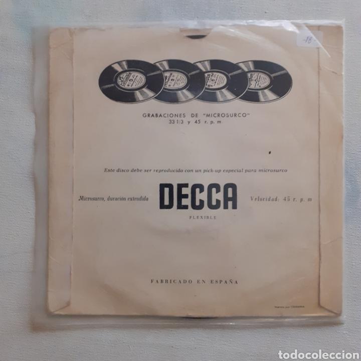 Discos de vinilo: Lys Assia. Oh! Mi papá. EP. DECCA DGE 60.137. Funda VG. Disco VG++. - Foto 2 - 200838782