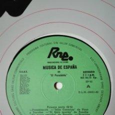 Discos de vinilo: NÚM 8. EL PASODOBLE. TRANSCRIPCIONES DE RNE. MÚSICA DE ESPAÑA. SP 82. LP VINILO.. Lote 200848110