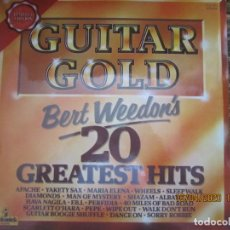 Discos de vinilo: BERT WEEDON - 20 GREATEST HITS LP - LIMITED EDITION - INGLATERRA PICKWICK 1976 - STEREO -. Lote 200850875