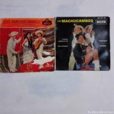 Discos de vinilo: 2 EP DE LOS MACHUCAMBOS. 1959 Y 1962.. Lote 200859183