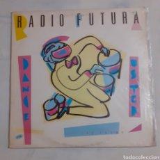 Discos de vinilo: RADIO FUTURA. DANCE USTED. MAXISINGLE. FLASH RÉCORDS 549.040. 1983. FUNDA VG+. DISCO VG++.. Lote 200860286