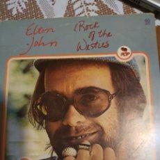 Discos de vinilo: ELTON JOHN. ROCK OF THE WESTIES.. Lote 200865955