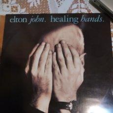 Discos de vinilo: ELTON JOHN. HEALING HANDS MAXI SINGLE. Lote 200866193