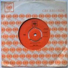 Discos de vinilo: JIMMY DEAN. LITTLE BLACK BOOK/ PLEASE PASS THE BISCUITS. CBS, UK 1962 SINGLE. Lote 200866726