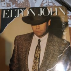Discos de vinilo: ELTON JOHN. BREAKING HEARTS. Lote 200866745