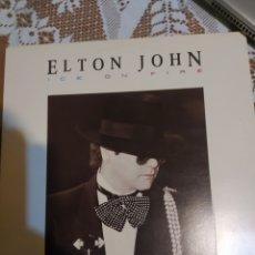 Discos de vinilo: ELTON JOHN. ICE ON FIRE.. Lote 200866966