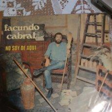 Discos de vinilo: FACUNDO CABRAL. NO SOY DE AQUI. IMPORTADO.. Lote 200870885