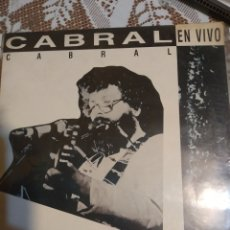Discos de vinilo: FACUNDO CABRAL EN VIVO. IMPORTADO. Lote 200871018