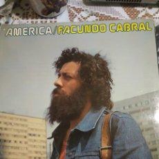 Discos de vinilo: FACUNDO CABRAL. AMÉRICA. EDITADO EN ESPAÑA. 1976. Lote 200871241