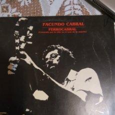 Discos de vinilo: FACUNDO CABRAL. FERROCABRAL. IMPORTADO.. Lote 200871323