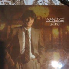 Discos de vinilo: FRANCISCO. LATINO.. Lote 200872036