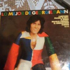 Discos de vinilo: LO MEJOR DE GEORGIE DANN.. Lote 200872651