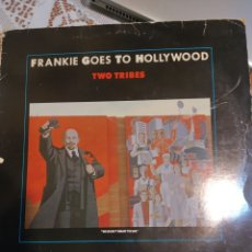 Discos de vinilo: FRANKIE GOES TO HOLLYWOOD. TWO TRIBES. MAXI SINGLE.. Lote 200872977