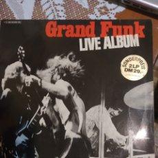 Discos de vinilo: GRAND FUNK. LIVE ÁLBUM. VER FOTOS.. Lote 200873408