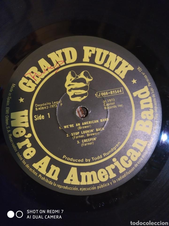 Discos de vinilo: Grand Funk. Were an american band. Ver fotos de su estado. Editado en España 1973. - Foto 3 - 200873512