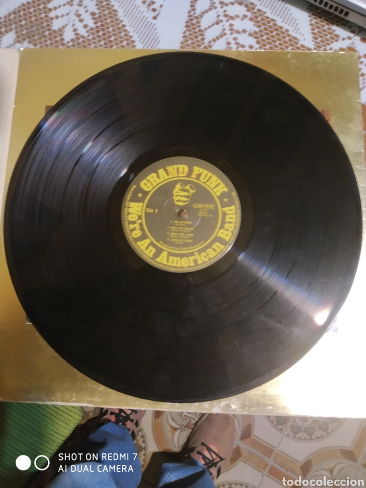 Discos de vinilo: Grand Funk. Were an american band. Ver fotos de su estado. Editado en España 1973. - Foto 5 - 200873512
