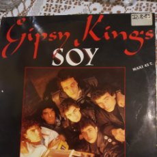 Discos de vinilo: GIPSY KINGS. SOY. MAXI SINGLE.. Lote 200875203