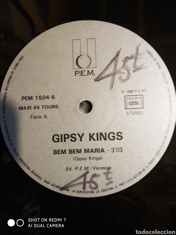 Discos de vinilo: Gipsy Kings. Bem Bem María Maxi single. - Foto 2 - 200875393