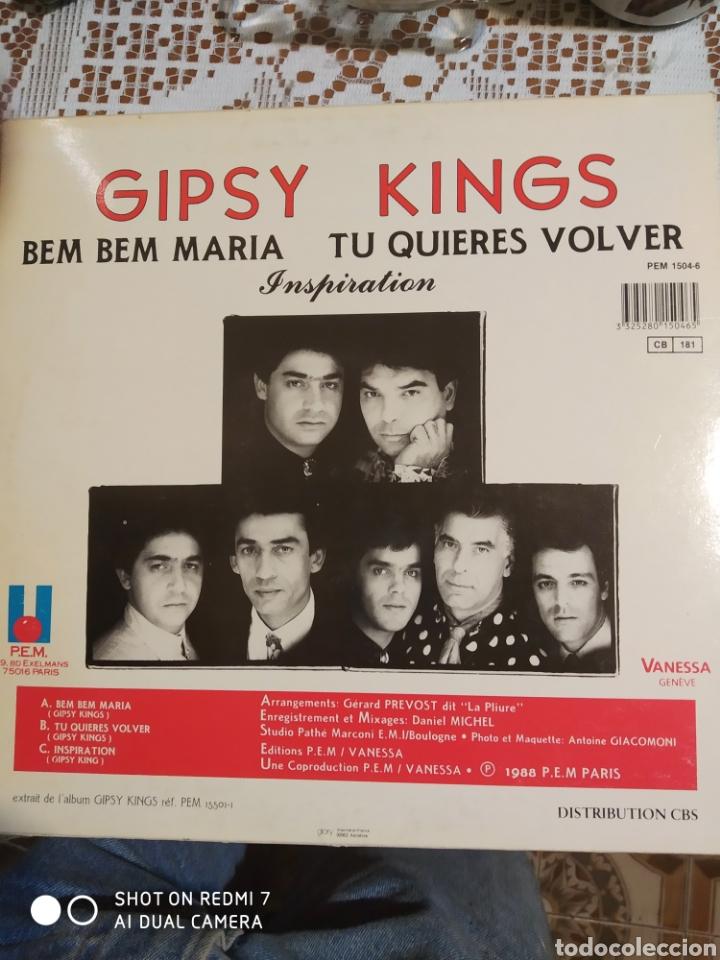 Discos de vinilo: Gipsy Kings. Bem Bem María Maxi single. - Foto 5 - 200875393