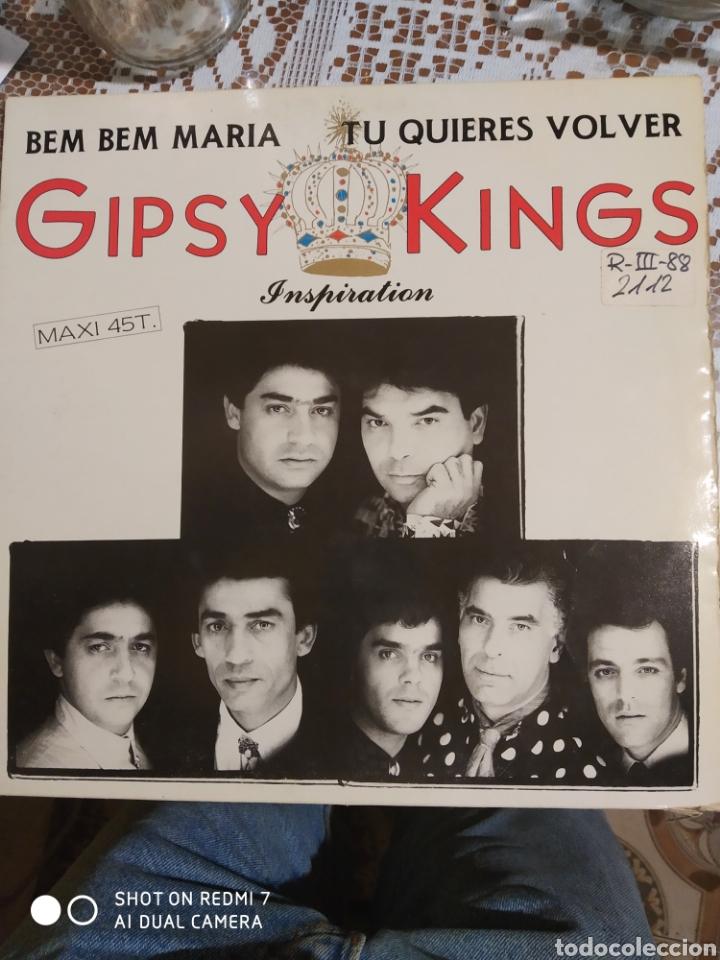 GIPSY KINGS. BEM BEM MARÍA MAXI SINGLE. (Música - Discos de Vinilo - Maxi Singles - Flamenco, Canción española y Cuplé)