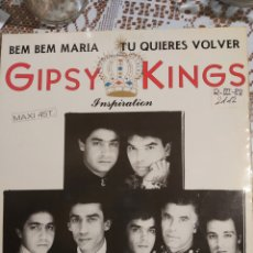Discos de vinilo: GIPSY KINGS. BEM BEM MARÍA MAXI SINGLE.. Lote 200875393