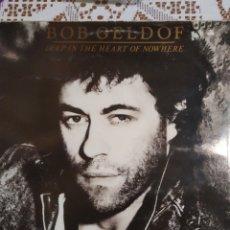 Discos de vinilo: BOB GELDOF. DEEP IN THE HEART OF NOWHERE.. Lote 200877505