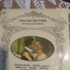 Discos de vinilo: SANTO MORALES ORQUESTA Y VOZ 42 BOLEROS INOLVIDABLES.. Lote 200878797