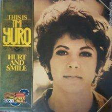 Discos de vinilo: THIS IS TIMI YURO - HURT AND SMILE - EDICIÓN HOLANDA 1975 DOBLE DISCO CON CARPETA ABIERTA POP SOUL . Lote 201114438