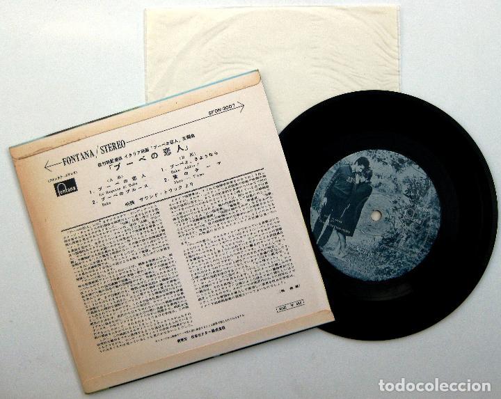 Discos de vinilo: Claudia Cardinale / Carlo Rustichelli - La Ragazza Di Bube - EP Fontana 1964 Japan BPY - Foto 2 - 201124940