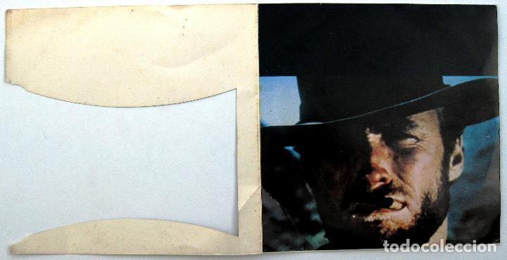 Discos de vinilo: Maurice Leclerc Orch. / Ennio Morricone - Per Un Pugno Di Dollari - EP Philips 1973 Japan BPY - Foto 3 - 201128672