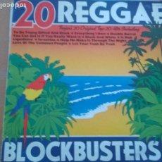 Discos de vinilo: 20 REGGAE BLOCKBUSTERS LP VARIOS TROJAN SPAIN. Lote 201128936