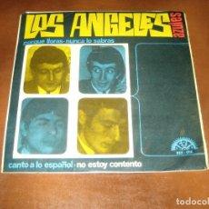 Disques de vinyle: LOS ANGELES AZULES . Lote 201160672