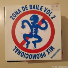 Discos de vinilo: NT ZONA DE BAILE VOL 2 MIX PROMOCIONAL 1992 SPAIN PROMO PROMOCIONAL SINGLE VINILO. Lote 236047480