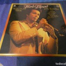 Discos de vinilo: LP JAZZ UK HERB ALPERT AND THE TIJUANA BRASS HOMONIMO. Lote 201176668