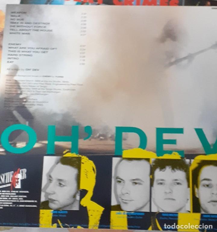 Discos de vinilo: Oh Dev ?– You Get What You Deserve punk,experimental - Foto 2 - 201184301