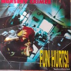 Discos de vinilo: NURSERY CRIMES – FUN HURTS! PUNK,GARAGE ..AUSTRALIA SURVIVAL. Lote 201184556
