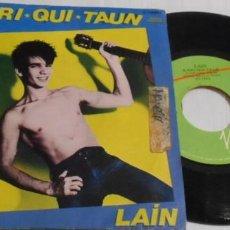 Discos de vinilo: LAIN A RRI QUI TAUN SINGLE ESPAÑA. Lote 201195257