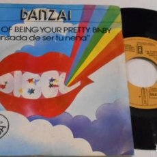 Discos de vinilo: BANZAI CANSADA DE SER TU NENA SINGLE ESPAÑA. Lote 201196172