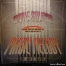 Discos de vinilo: GROOVE SOLUTION - MAGIC MELODY - 1996 - MAXI. Lote 201196272