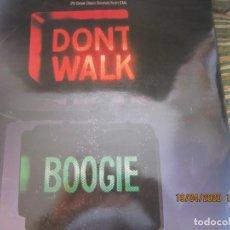 Discos de vinilo: DONT WALK BOOGIE - 20 GREST DISCO SOUND FROM EMI LP - EDICION INGLESA - E.M.I RECORDS 1978 STEREO -. Lote 201200873