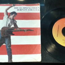 Discos de vinilo: MUSICA SINGLE BRUCE SPRINGSTEEN BORN IN THE USA EDICION ESPAÑOLA DE 1984. Lote 201209527