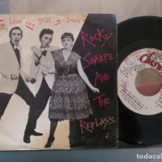 Disques de vinyle: ROCKY SHARPE AND THE REPLAYS: RAMA LAMA DING DONG (SINGLE ESPAÑOL). Lote 201221617