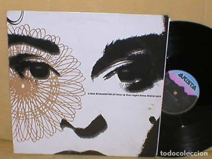 LISA STANSFIELD SPAIN MAXI SINGLE THIS IS THE RIGHT TIME 2 VERSIONES MIX 1990 ELECTRONIC HOUSE POP (Música - Discos de Vinilo - Maxi Singles - Pop - Rock Internacional de los 90 a la actualidad)
