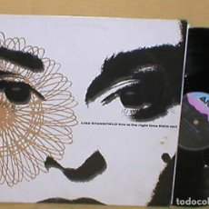Discos de vinilo: LISA STANSFIELD SPAIN MAXI SINGLE THIS IS THE RIGHT TIME 2 VERSIONES MIX 1990 ELECTRONIC HOUSE POP. Lote 201234060