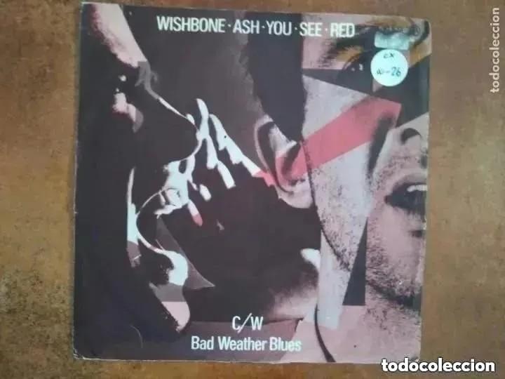 WISHBONE ASH - YOU SEE RED (SG) 1978 (Música - Discos - Singles Vinilo - Heavy - Metal)