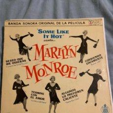 Disques de vinyle: MARILYN MONROE - SOME LIKE IT HOT 7. Lote 201236233