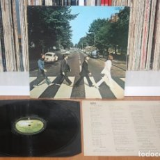 Discos de vinilo: THE BEATLES ABBEY ROAD 1969 ORIGINAL 1ST PRESS JAPAN LP APPLE AP-8815 JAPON. Lote 201244815