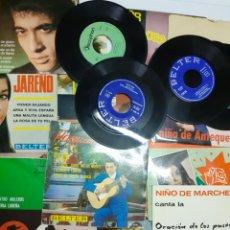 Discos de vinilo: LOTE DE DISCOS DE FLAMENCO, 18 LOS DE LA FOTO. Lote 201251003